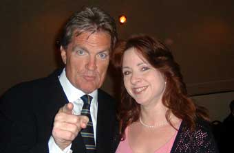 Roseann with WPLJ DJ Scott Shannon
